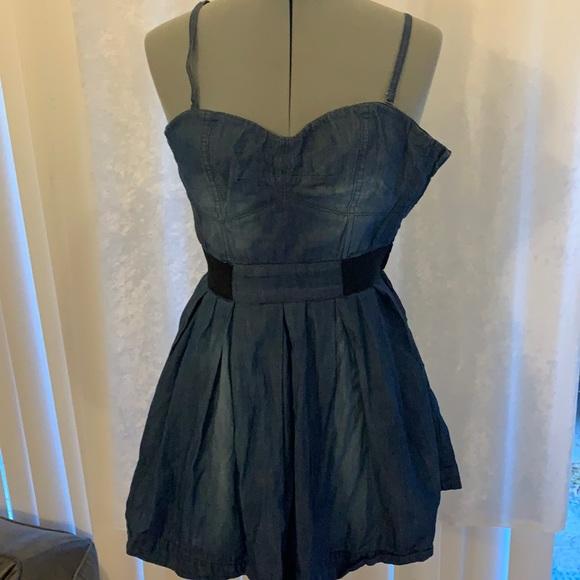 Cute short jean dress Jessica Simpson